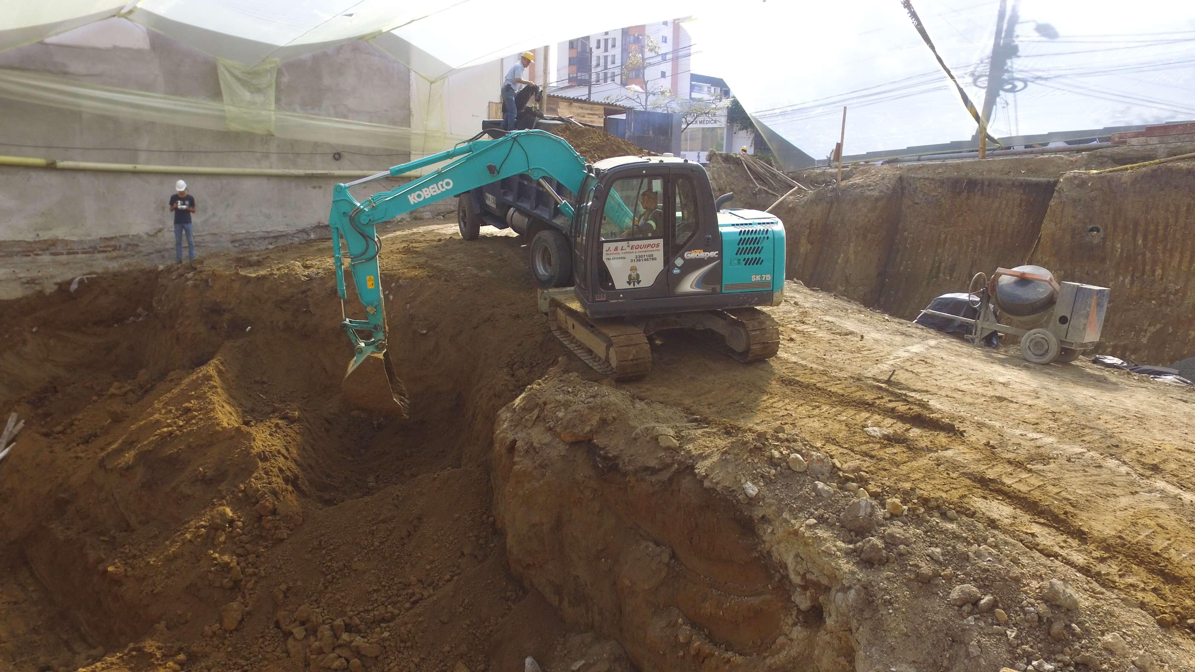 Excavadora Kobelco SK75-8 ACERA